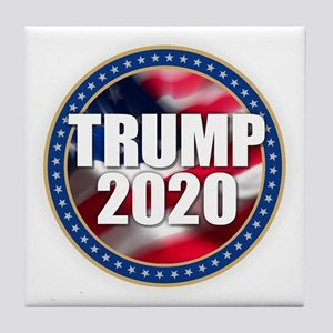 Trump 2020 Tile Coaster