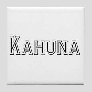 Kahuna Tile Coaster
