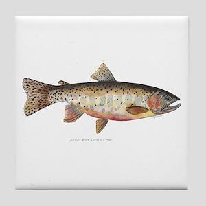 Colorado River Cutthroat Trout Tile Coaster
