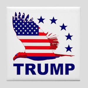 Trump For America Tile Coaster