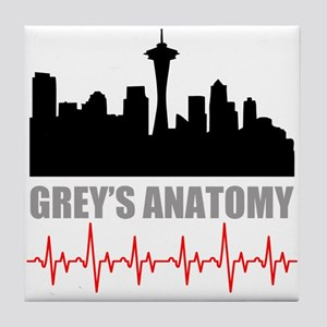 Grey's Anatomy Seatle Tile Coaster