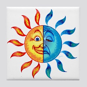 BiPolar Solar Tile Coaster