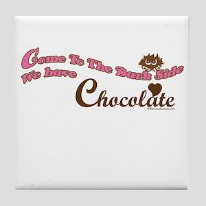 Chocolate Lover Tile Coaster