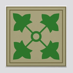 4th Infantry Tile Coaster