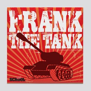 Frank The Tank Tile Coaster