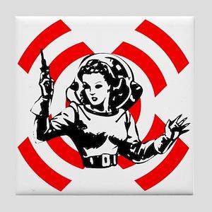 Spacegirl Tile Coaster