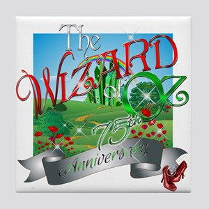 75th Anniversary Wizard of Oz Movie Poppies Tile C