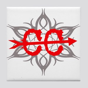 Cross Country Tribal Tile Coaster