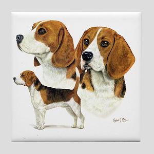 Beagle Multi Tile Coaster