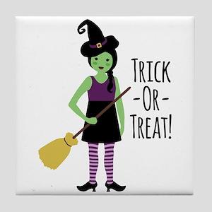 Trick - Or - Treat! Tile Coaster