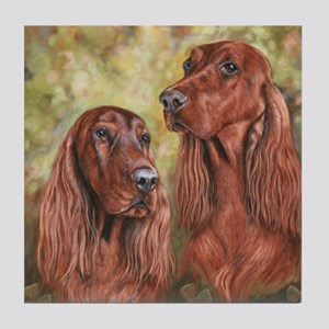 Irish Setter_CB Tile Coaster