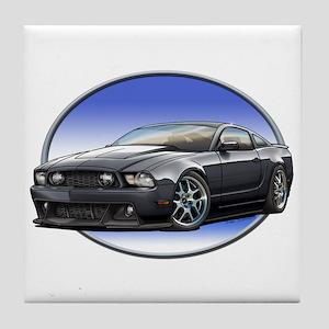 GT Stang Black Tile Coaster