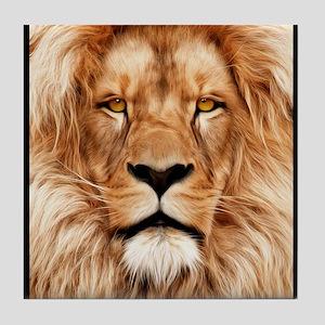Lion - The King Tile Coaster