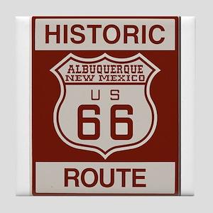 Albuquerque Route 66 Tile Coaster
