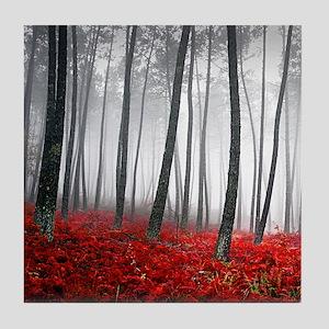 Winter Forest Tile Coaster