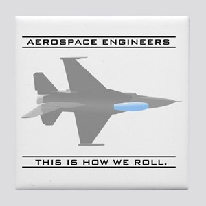 Aero Engineers: How We Roll Tile Coaster