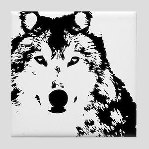 Wolf Tile Coaster