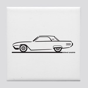 1961 Ford Thunderbird Hardtop Tile Coaster