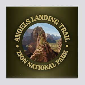 Angels Landing Tile Coaster