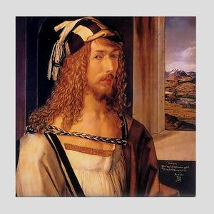 Albrecht Durer Self Portrait Tile Coaster