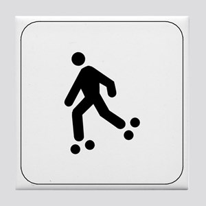Skating Icon Tile Coaster