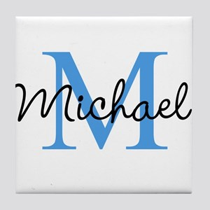 Personalize Iniital, And Name Tile Coaster