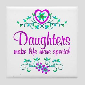 Special Daughter Tile Coaster