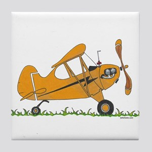 Cub Airplane Tile Coaster