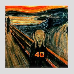 Scream 40th Tile Coaster