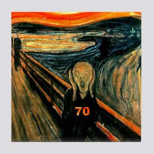 Scream 70th Tile Coaster