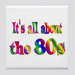 All About 80s Tile Coaster