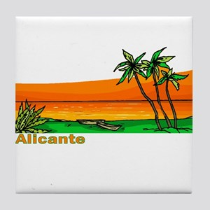 Alicante, Spain Tile Coaster