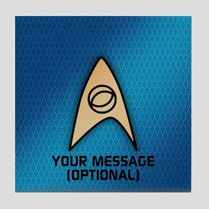 Star Trek Sciences Insignia Tile Coaster