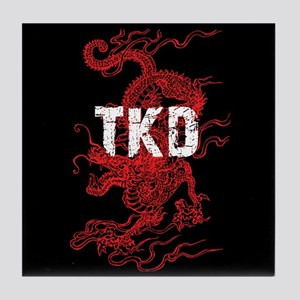 Tkd Dragon Tile Coaster