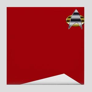 Star Trek TNG tunic Tile Coaster