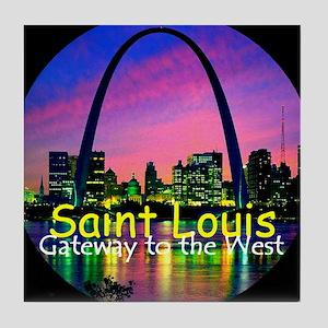 St Louis Tile Coaster