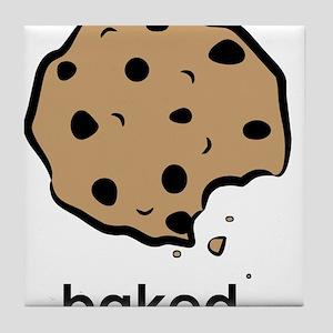 Baked. Tile Coaster
