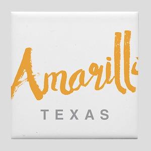 Amarillo Texas - Tile Coaster