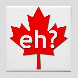 Canadian eh? Tile Coaster