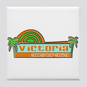 Victoria, Australia Tile Coaster