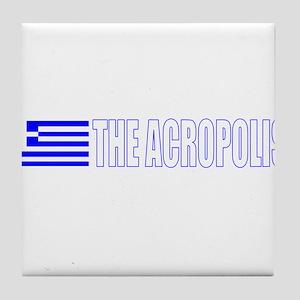 The Acropolis Tile Coaster