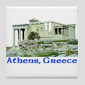 Athens, Greece (Acropolis) Tile Coaster