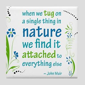 Nature Atttachment Tile Coaster