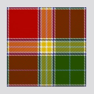 Gibson Scottish Tartan Tile Coaster