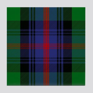 Sutherland Scottish Tartan Tile Coaster