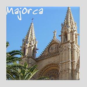 Majorca Church Tile Coaster