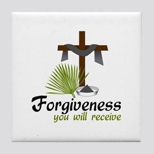 Forgiveness You Will Receive Tile Coaster