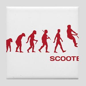 Darwin Ape to man Evolution Push Kick Scooter Tile