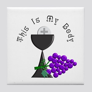 More First Communion Tile Coaster