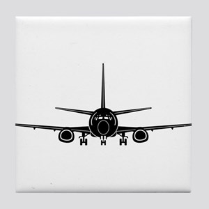 Airplane Tile Coaster